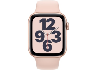 Apple Watch SE 44mm Aluminum Gold Sport Band Pink