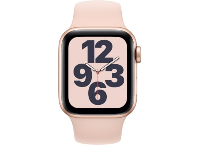 Apple Watch SE 40mm Aluminum Gold Sport Band Pink