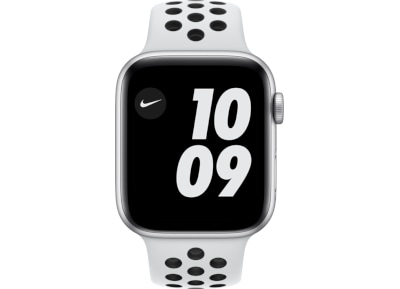 Apple Watch SE Nike 44mm Silver Aluminum Pure Platinum Sport Band