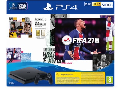 Sony PlayStation 4 - 500GB Slim F Chassis & Fifa 21