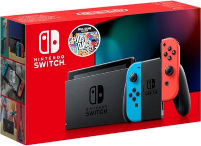 Switch Console R&B J/C New + Just Dance