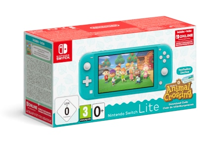 Nintendo Switch Lite Turquise - Κονσόλα Nintendo & Animal Crossing New Horizons & 3 Months Nintendo Subscription