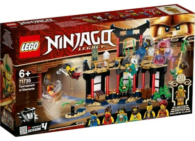 Lego Ninjago Legacy Tournament Of Elements 71735