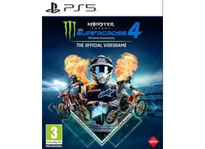 Monster Energy Supercross 4 - PS5 Game