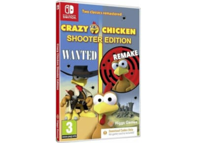 Crazy Chicken : Shooter Edition - Nintendo Switch Game