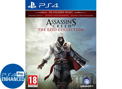Assassin's Creed: The Ezio Collection – PS4 Game