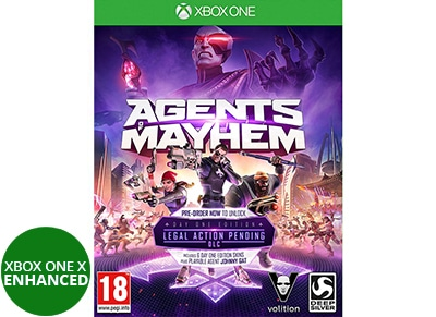 Agents of Mayhem Day One Edition - Xbox One Game