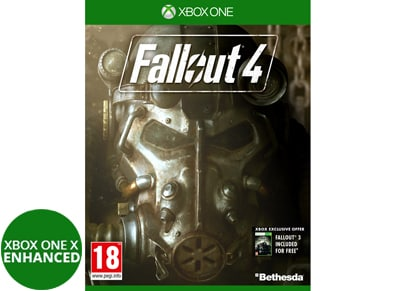 Fallout 4 - Xbox One Game & Fallout 3 (Xbox 360)