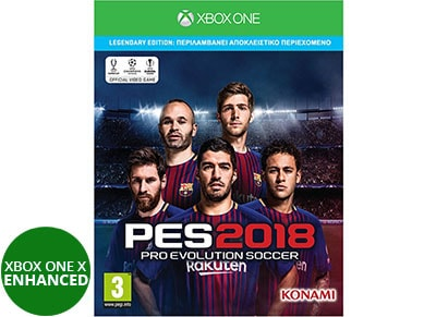Pro Evolution Soccer 2018 Legendary Edition  - Xbox One Game