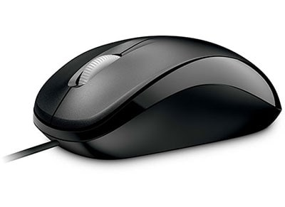 Microsoft Compact Optical Mouse 500 - Ενσύρματο ποντίκι - Μαύρο