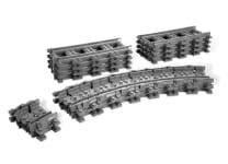 LEGO® Flexible and Straight Tracks