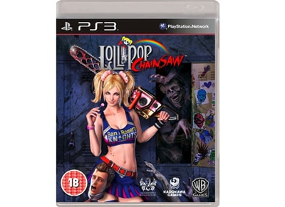 Lollipop Chainsaw - PS3 Game