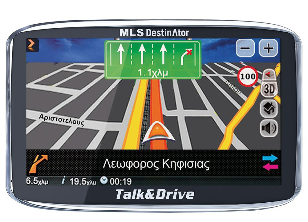 Gps Mls Destinator Talk Drive 50tsp Xartes Elladas Eyrwphs