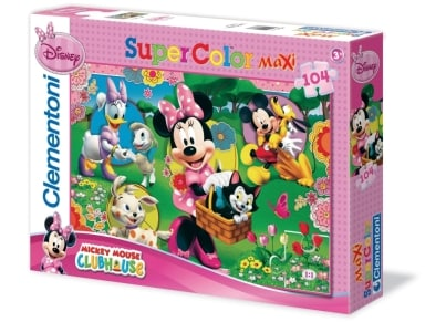 Παζλ Minnie Mouse Super Color (104 Maxi Κομμάτια)