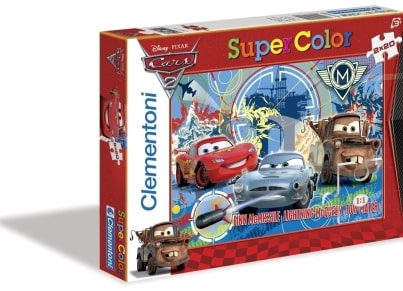 Παζλ Disney Cars 2 Super Color Disney (2x20 Κομμάτια)