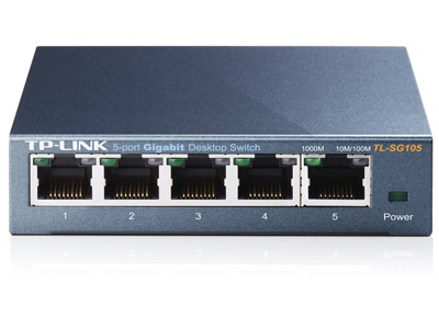 Διανομέας Δικτύου TP-Link TL-SG105 - 5 Port Gigabit Network Switch