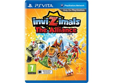 PS Vita Used Game: Invizimals: The Alliance gaming   used games   ps vita used