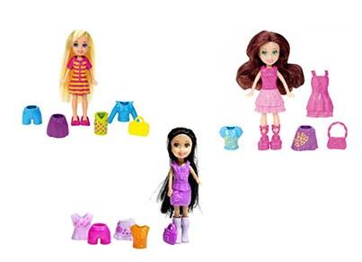 Κούκλα Μίνι Polly Pocket με Ρούχα (1 Τεμάχιο)  0b1209c831f