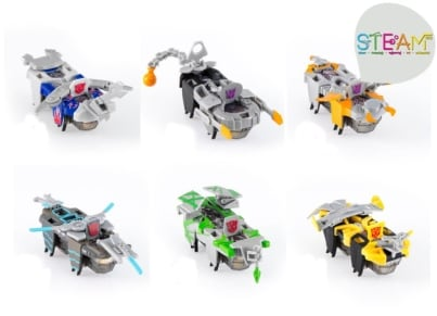 Ρομπότ HexBug Warriors Transformer Single