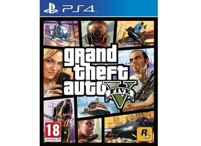 Grand Theft Auto V - PS4 Game