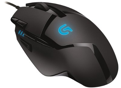 Gaming Mouse Logitech G402 Hyperion Fury Μαύρο gaming   αξεσουάρ pc gaming   gaming mouse