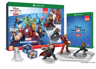 Disney Infinity 2.0 Marvel Super Heroes Avengers Starter Pack - Xbox One Game