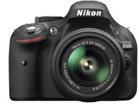 DSLR Nikon D5200 Kit 18-55mm VR II - Μαύρο