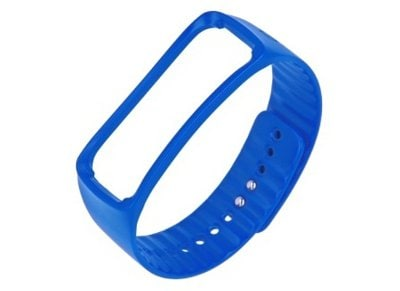 Samsung Galaxy Gear Fit Ανταλλακτικό Λουράκι Μπλε - Urethane Strap ET-SR350 Medium
