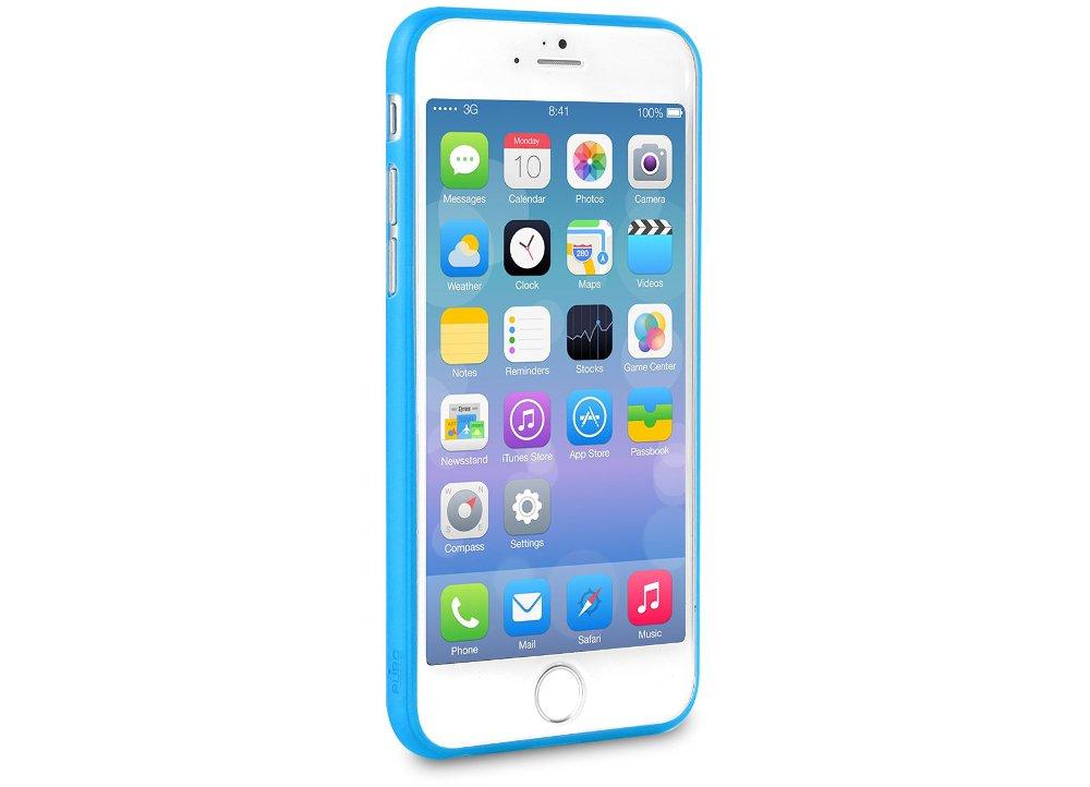 e8e67be825 Θήκη iPhone 6 6S Plus   Μεμβράνη οθόνης - Puro UltraSlim 0.3 Cover ...