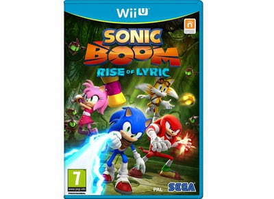 Sonic Boom: Rise of Lyric - Wii U Game gaming   παιχνίδια ανά κονσόλα   wii u