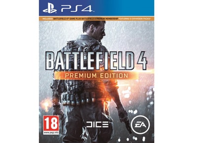 Battlefield 4 Premium Edition - PS4 Game