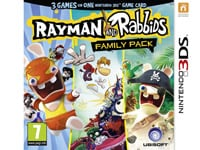 Rayman and Rabbids Family Pack - 3DS/2DS Game