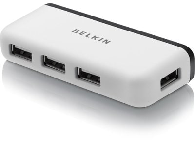 USB Hub 2.0 Belkin Travel Series 4-Port - F4U021BT
