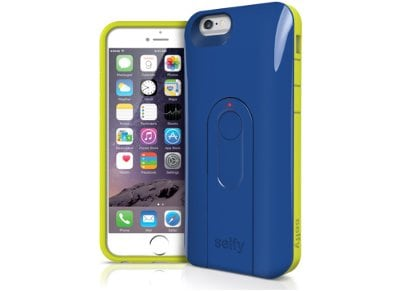 Θήκη iPhone 6/6S - iLuv Selfy Case AI6SELFBL Μπλε