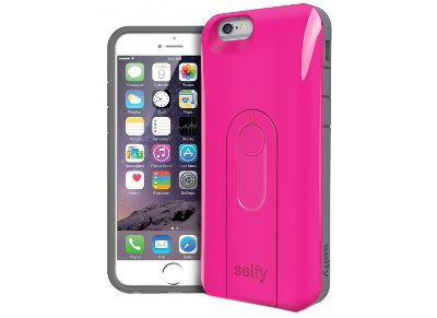 Θήκη iPhone 6/6S - iLuv Selfy Case AI6SELFPN Ροζ