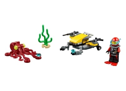 LEGO® 60090 Deep Sea Scuba Scooter