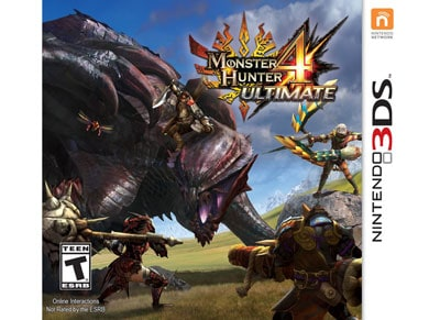 Monster Hunter 4 Ultimate - 3DS/2DS Game gaming   παιχνίδια ανά κονσόλα   3ds 2ds