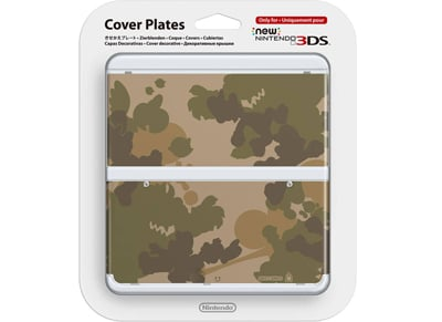 New Nintendo 3DS Coverplate - Camouflage