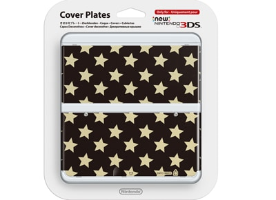 New Nintendo 3DS Coverplate - Stars