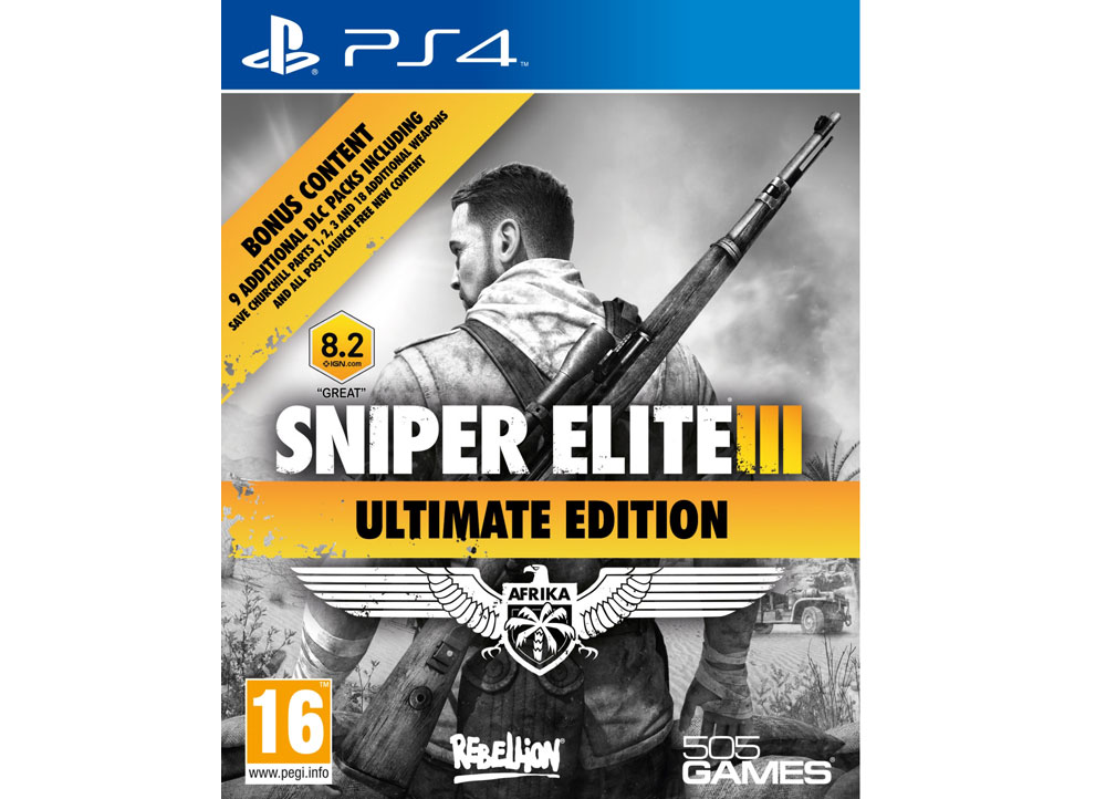 Sniper Elite 3 Ultimate Edition - PS4 Game