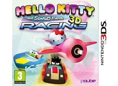 Hello Kitty & Sanrio Friends 3D Racing - 3DS/2DS Game gaming   παιχνίδια ανά κονσόλα   3ds 2ds