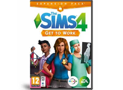 The Sims 4 Get to Work - Expansion Pack - PC Game gaming   παιχνίδια ανά κονσόλα   pc