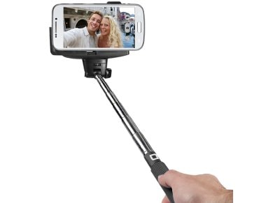 Bluetooth Selfie Stick - SBS Bluetooth Telescopic Selfie Μαύρο TESELFISHAFTBT