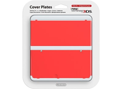 59a4dff53e New Nintendo 3DS Coverplate - Κόκκινο