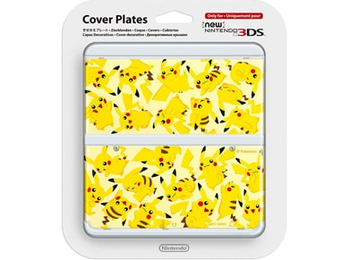 New Nintendo 3DS Coverplate - Pikachu gaming   αξεσουάρ κονσολών   3ds   2ds