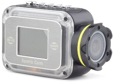 Action Camera Gembird WiFi Full HD Μαύρο ACAMW01