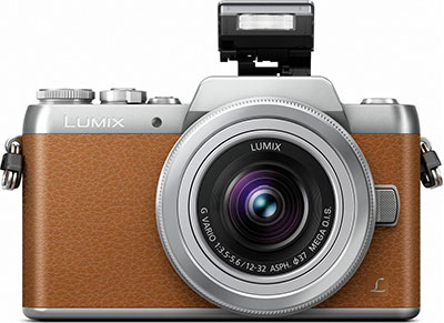 Mirrorless Camera - Panasonic Lumix DMC-GF7KEG-T - Καφέ