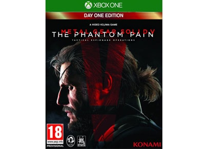 Metal Gear Solid V Phantom Pain D1 Edition - Xbox One Game