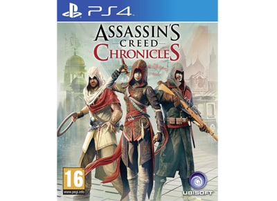Assassin's Creed Chronicles Trilogy Pack – PS4 Game