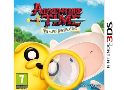 Adventure Time - Finn and Jake Investigations - 3DS/2DS Game gaming   παιχνίδια ανά κονσόλα   3ds 2ds